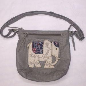 Wallflower Gray Elephant Purse